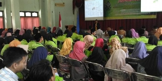 Fakultas Saintek Gelar Stadium General Tentang Pentingnya Jaminan Produk Halal