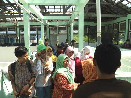 Mahasiswa Biologi UIN Walisongo Praktek Aquaculture di Teluk Awur